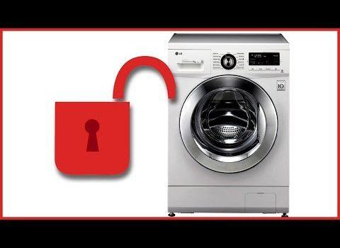 Как открыть дверь стиральной машины